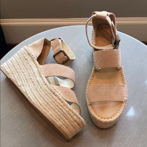 NWOT Soludos Palma Platform Sandals